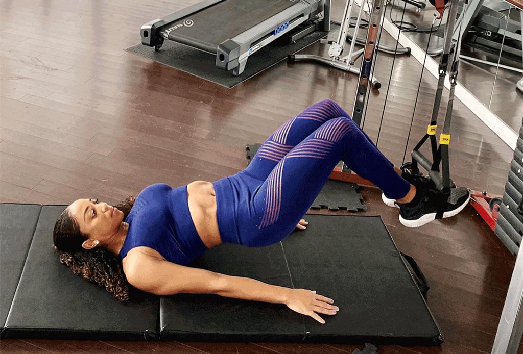 5 ejercicios diferentes para agregar a tu rutina de TRX - ejercicios-trx-4
