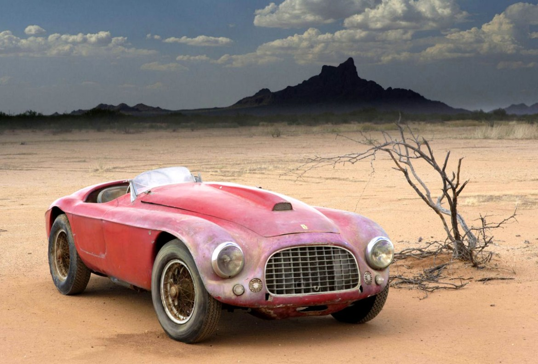 Estos autos clásicos fueron restaurados a su antigua gloria - ferrari-166