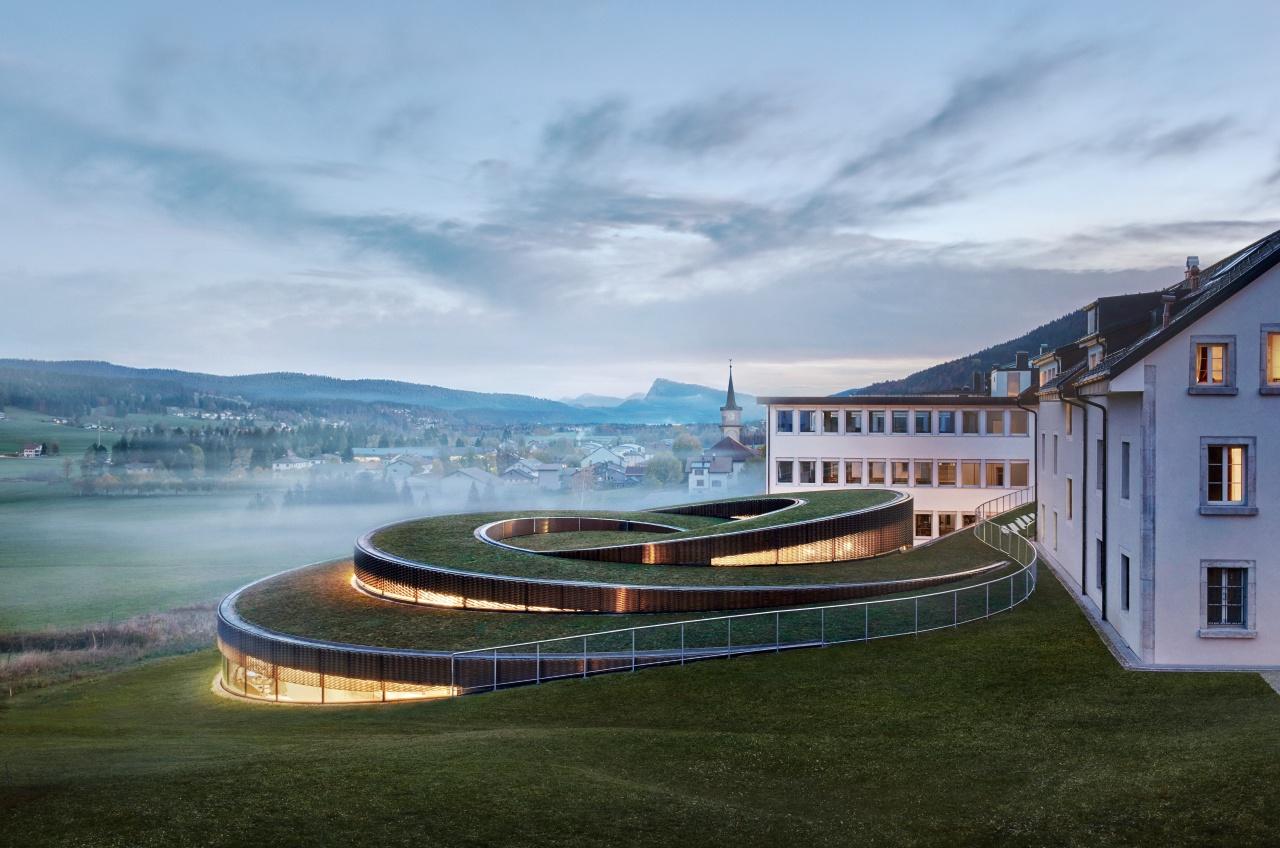 Conoce el vanguardista museo de Audemars Piguet en Suiza