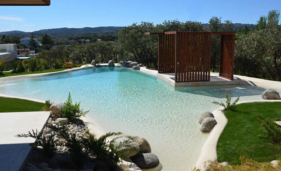 """La playa va a tu casa con la nueva tendencia de """"albercas de arena"""" - piscinas-de-arena-mexico"""