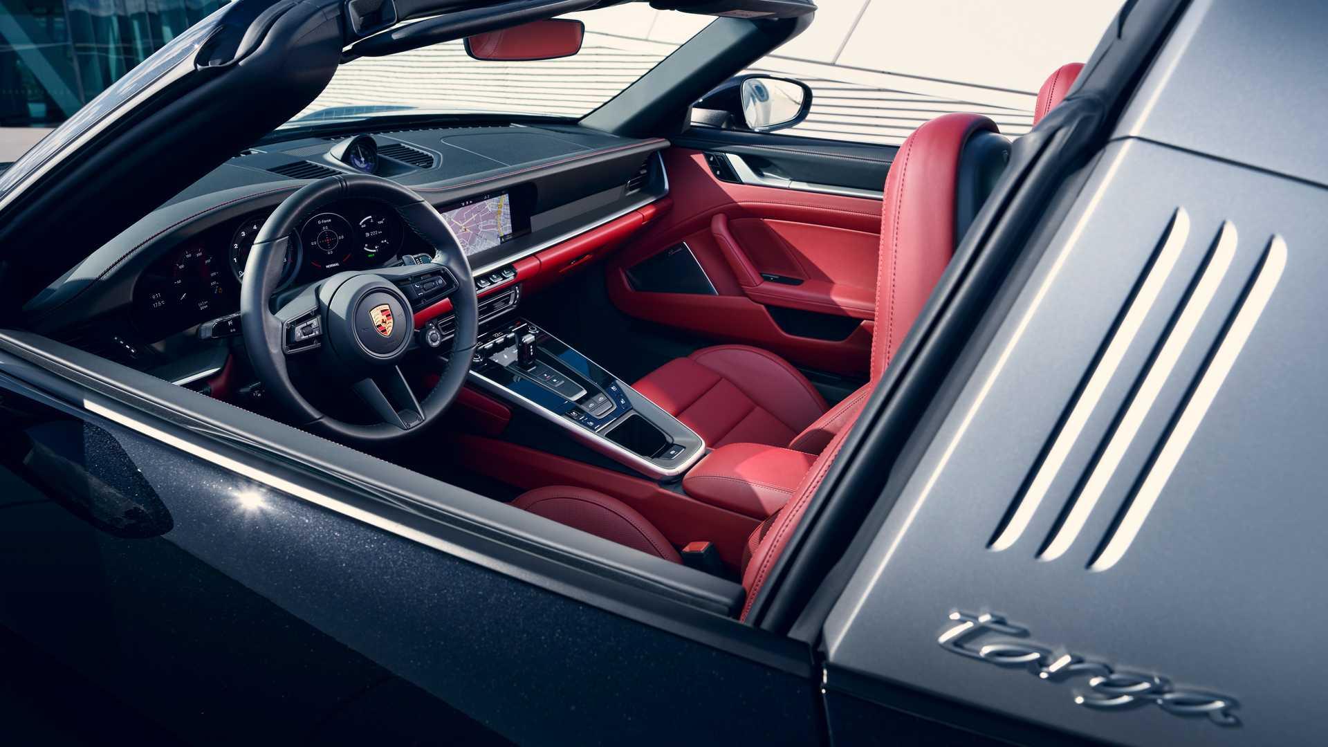 Así luce el Porsche 911 Targa 2021