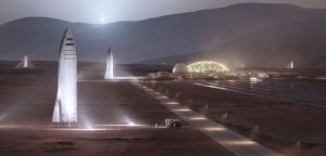 SpaceX ya envió astronautas al espacio, pero así es como busca llegar a Marte