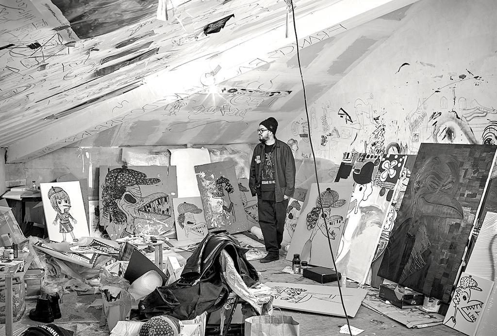 Los camiones y el street art: conoce a Abdul Vas