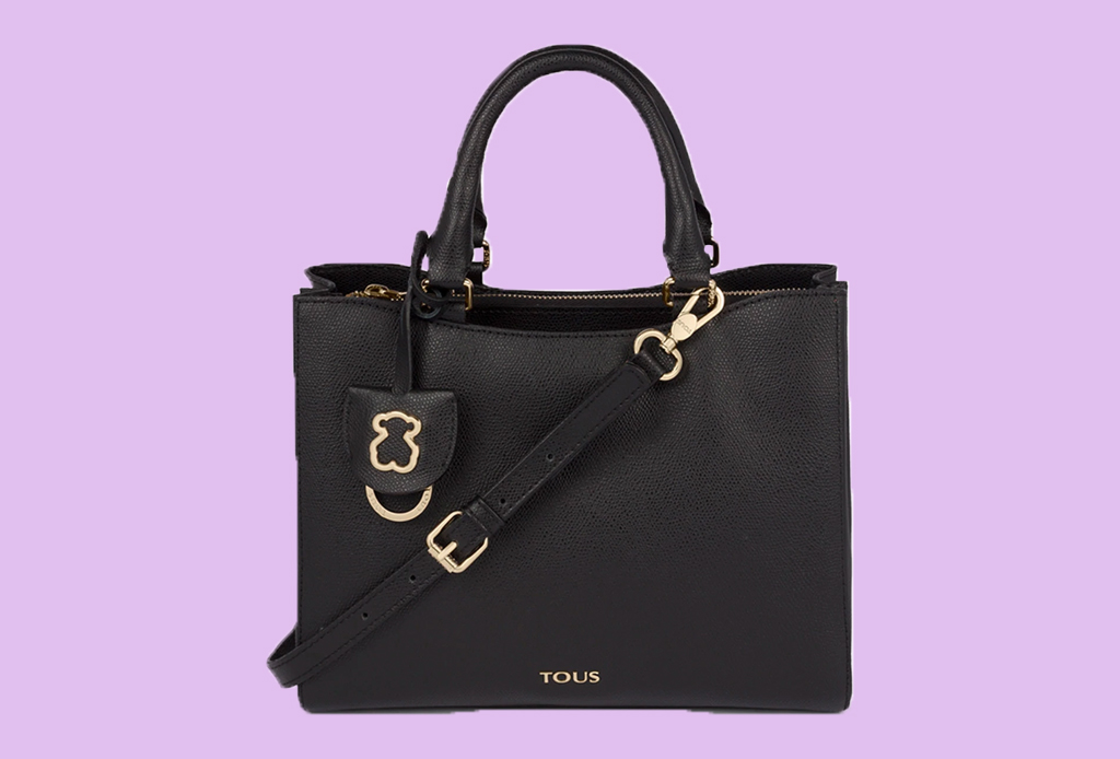 6 estilos de bolsa que debes comprar esta temporada - bolsa-top-handle-tous-negro-liverpool