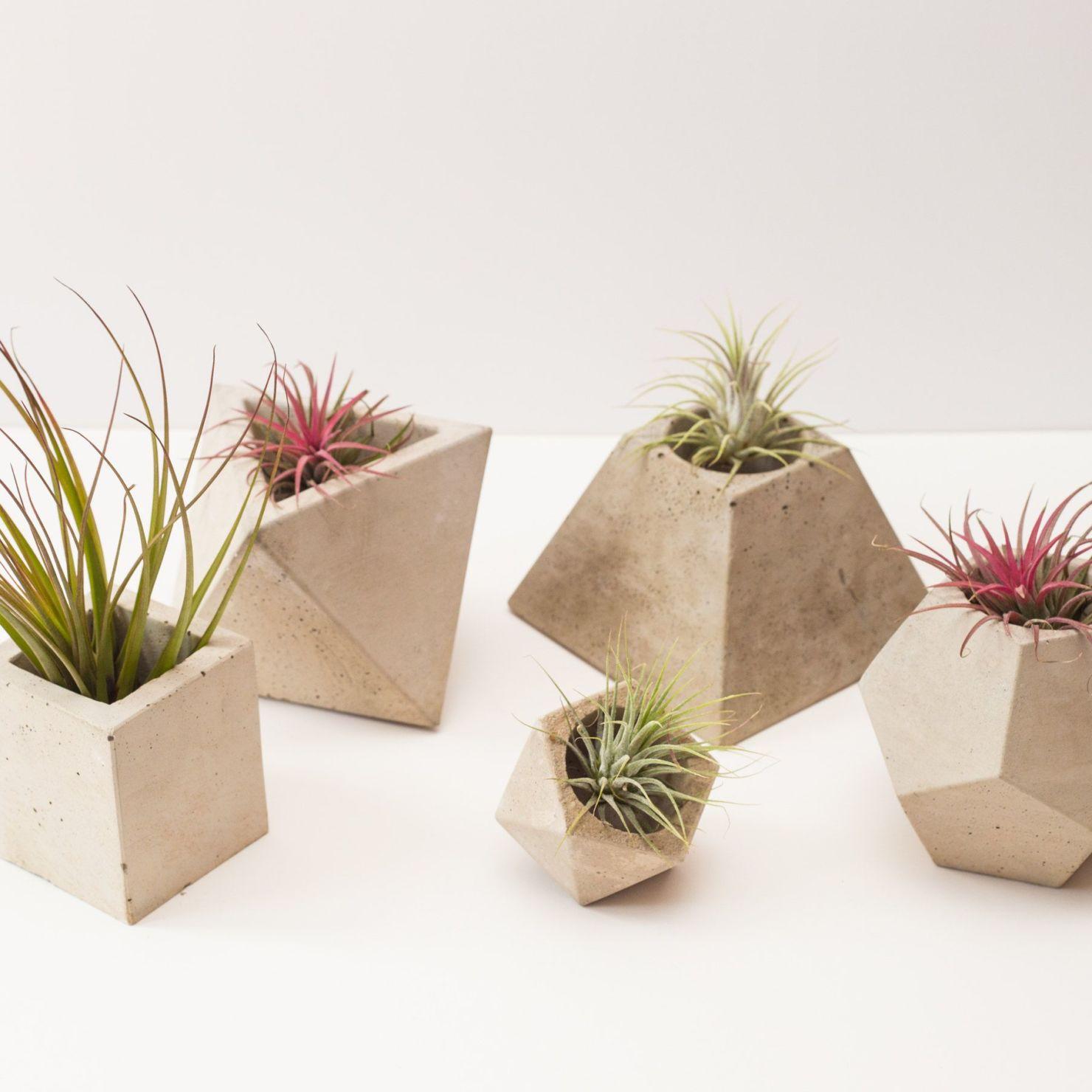5 ideas muy cool para decorar tu casa con artículos de cemento