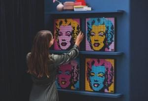 La nueva colección de Lego Art, basada en cultura pop, ¡la queremos ya!
