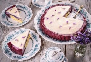 Cheesecake de red velvet ¡Sin horno!