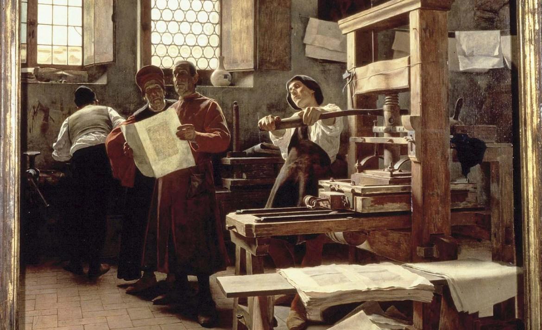 Los inventos tecnológicos más importantes de la historia - imprenta