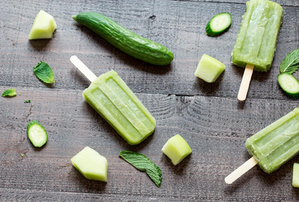 ¿Paletas heladas de smoothies de vegetales? Son más ricas de lo que crees
