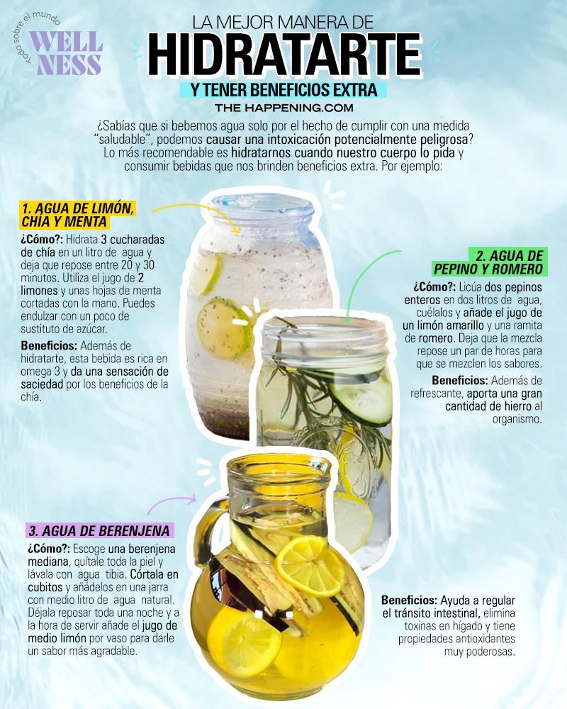 Hidrátate correctamente con estas sencillas opciones - aguasnaturales-wellness