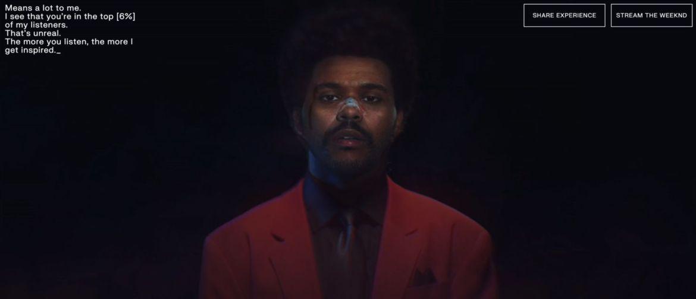 The Weeknd te da un concierto personalizado a través de Spotify - captura-de-pantalla-2020-08-20-a-las-9-54-04