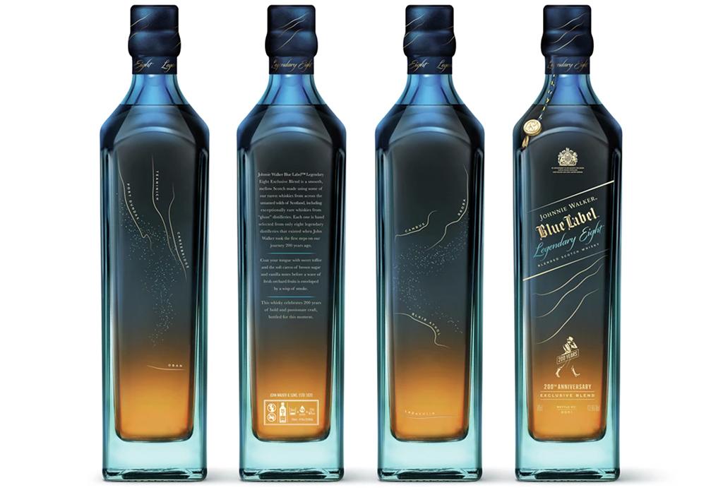 Johnnie Walker celebra sus 200 años con estas cuatro ediciones de Blue Label - johnnie-walker-200-ancc83os-2
