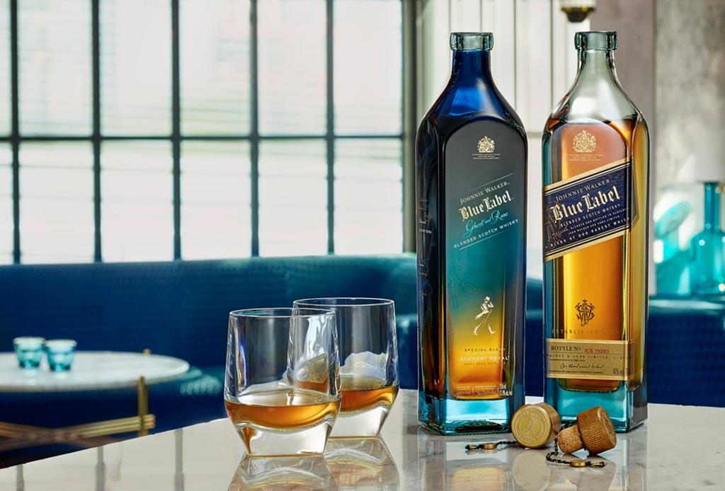 Johnnie Walker celebra sus 200 años con estas cuatro ediciones de Blue Label