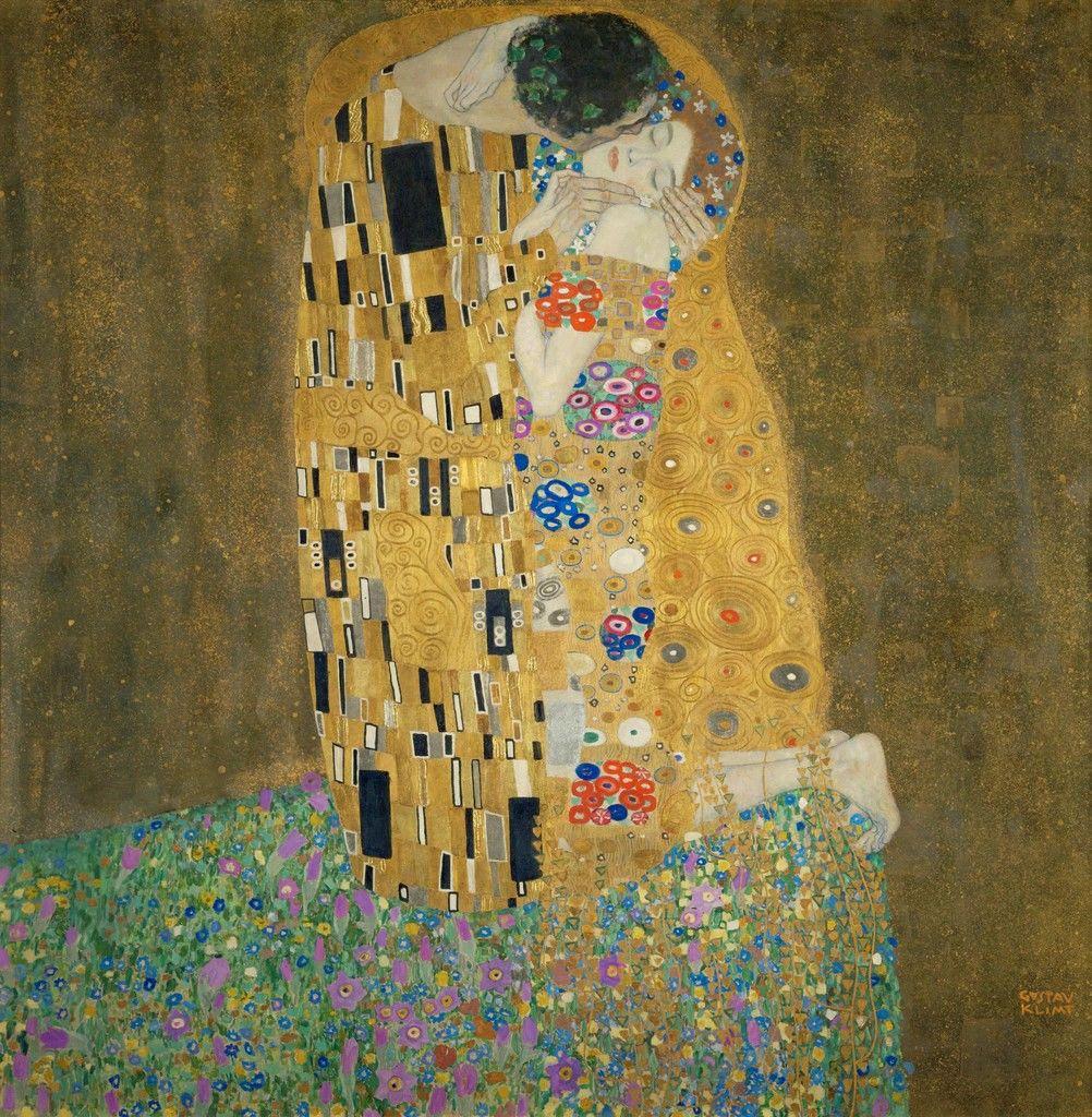 Obras de arte que los eternos románticos deberían conocer - klimt-el-beso