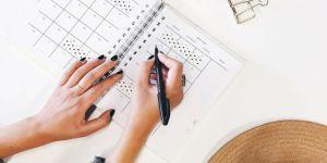 Planear tu semana nunca había sido tan fácil ¡toma nota!