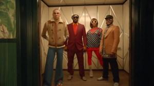 Los integrantes de Black Eyed Peas como nunca los habías visto