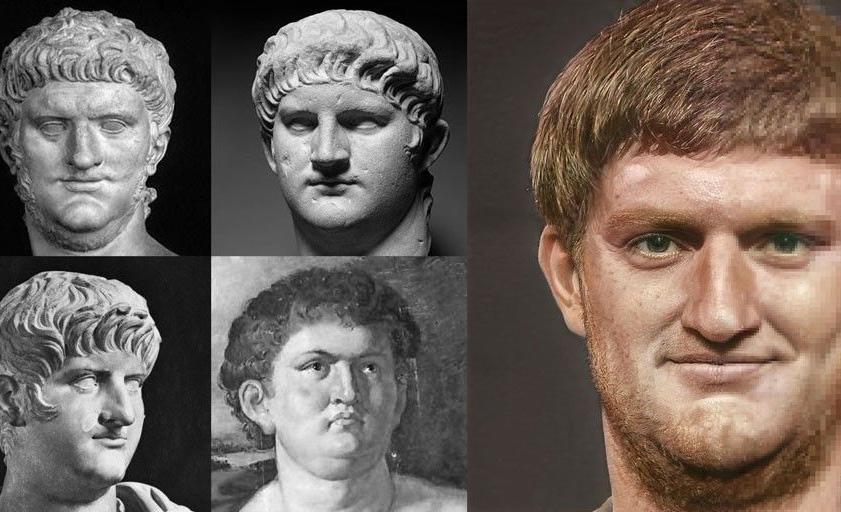 Así es como se veían realmente los emperadores del pasado - emperador-neton-estatua-realista