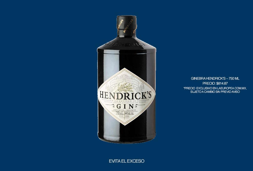 6 recetas fáciles para hacer cócteles frescos y originales para dar el grito - hendricks-gin-la-europea