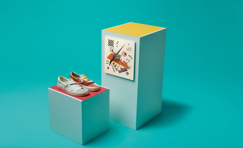 Vans y el MoMa lanzan una edición especial para los amantes del arte - kandinsky-moma-vans
