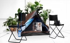 Acampa en tu jardín con la tienda de campaña de Louis Vuitton