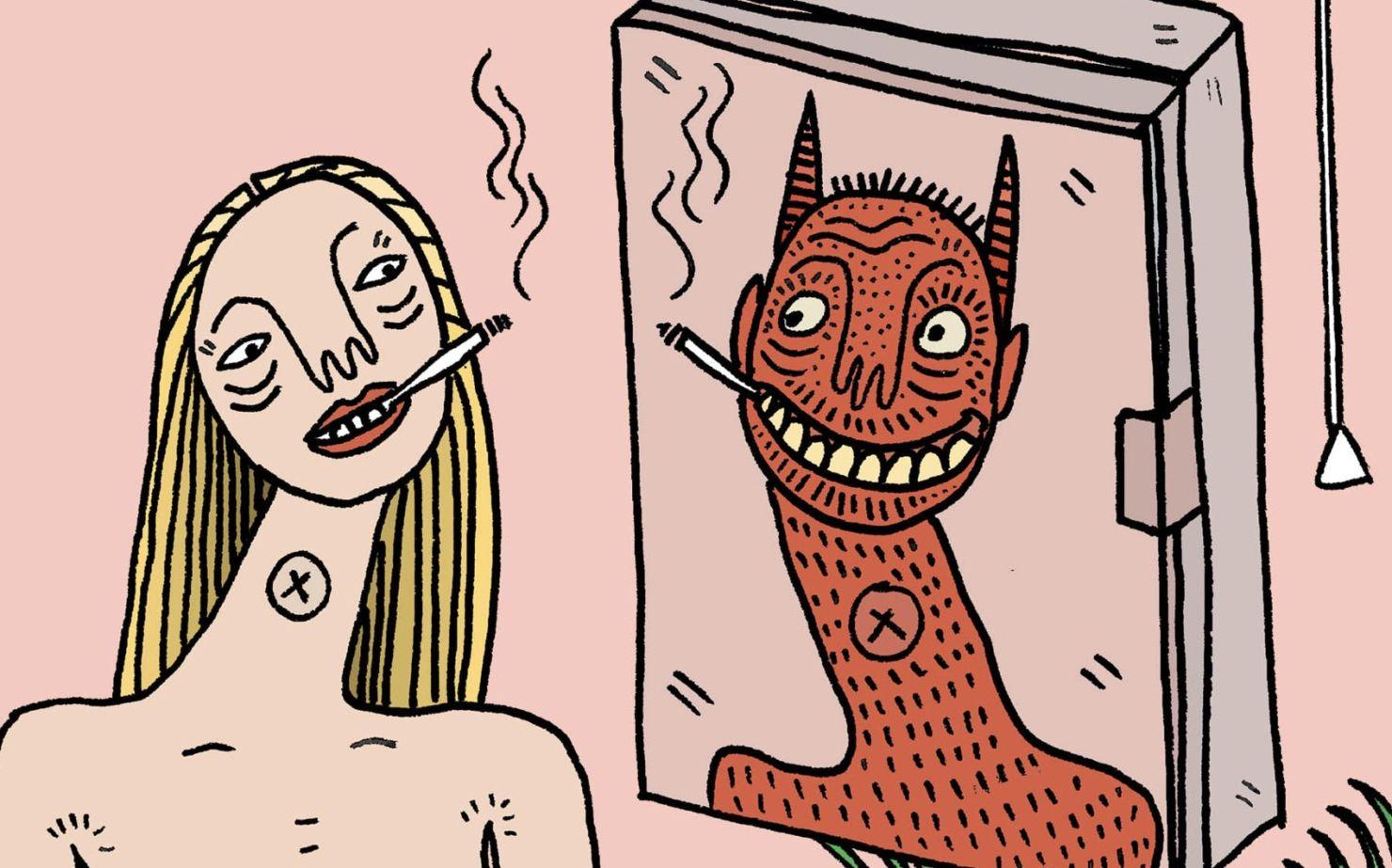 Conoce las ilustraciones de Polly Nor ¿realidad o ficción?