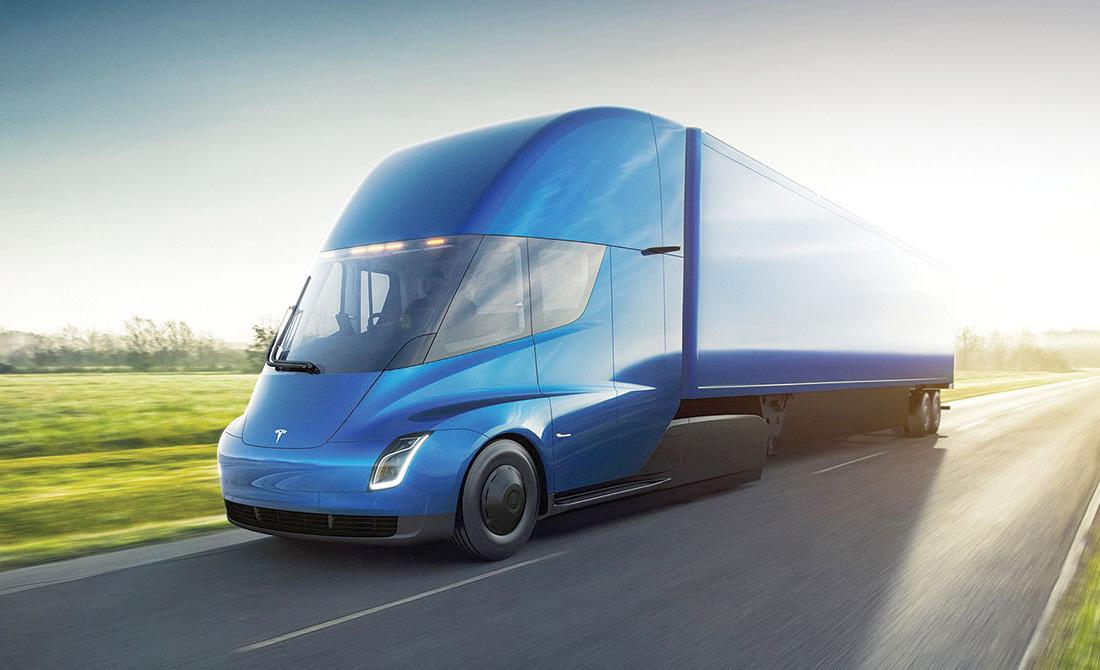 """""""Semi"""" se convertirá en el primer trailer eléctrico de Tesla - tesla-semi"""