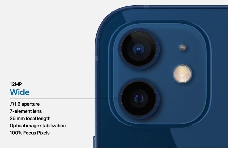 Apple presenta el nuevo iPhone 12, con grandes innovaciones - camara-iphone