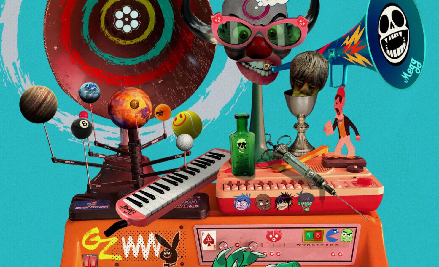 Song Machine, Season One: Strange Timez de Gorillaz