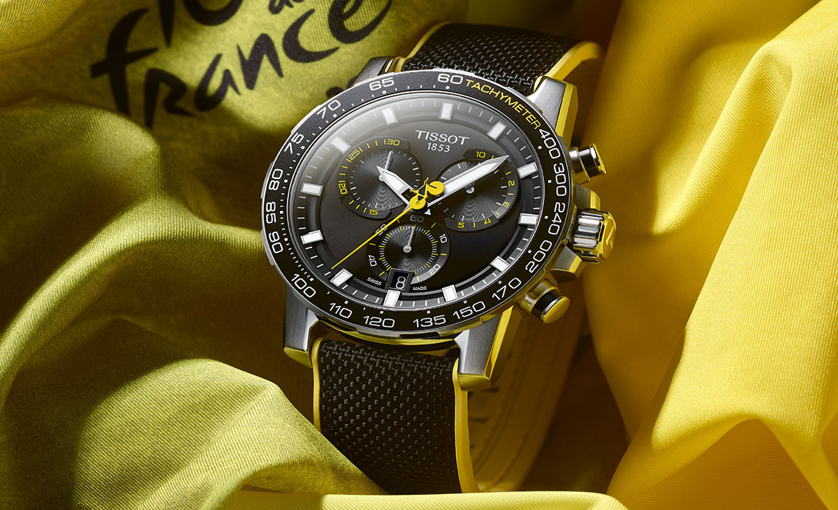 Tissot presenta el nuevo reloj para los amantes del ciclismo