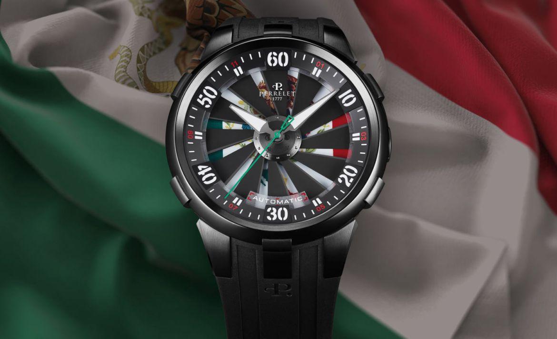 Los relojes inspirados en México que vimos en el SIAR 2020 - turbine-mexico-bandera