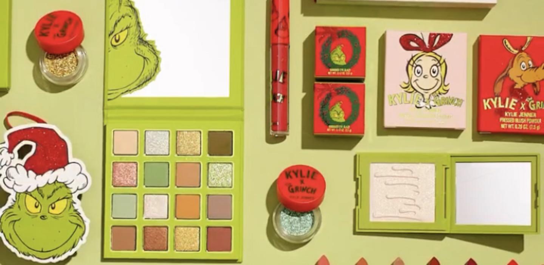 Kylie x The Grinch es la nueva colección de Kylie Cosmetics ¡la amamos!