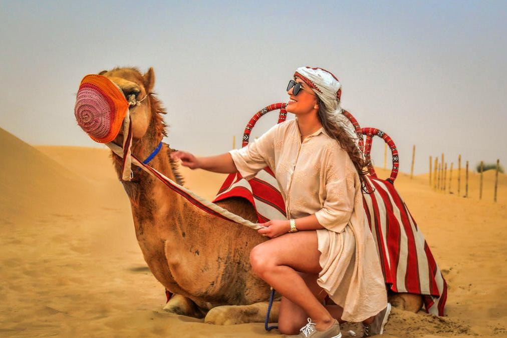 Este es el mejor tour del mundo según Tripadvisor - dubai-desierto-camello-tripadvisor