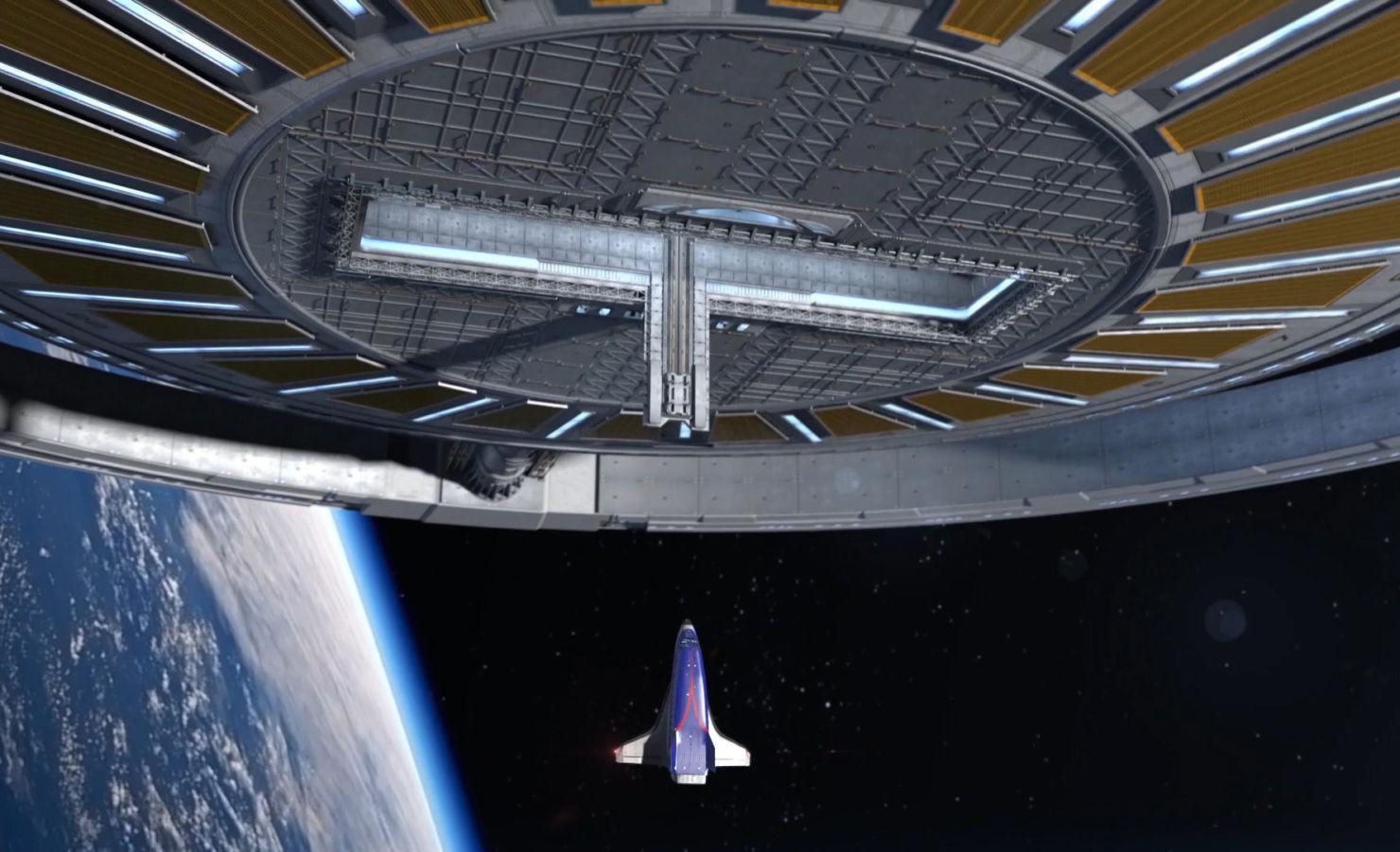 Esto es lo que podrás hacer en el primer hotel en el espacio