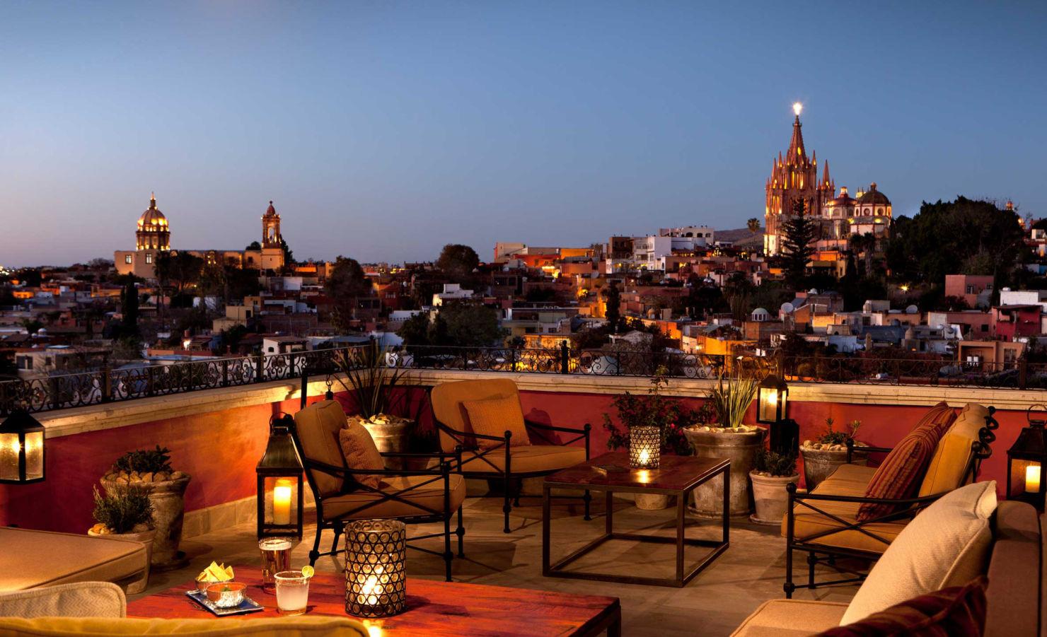 Tenemos las mejores terrazas en San Miguel de Allende