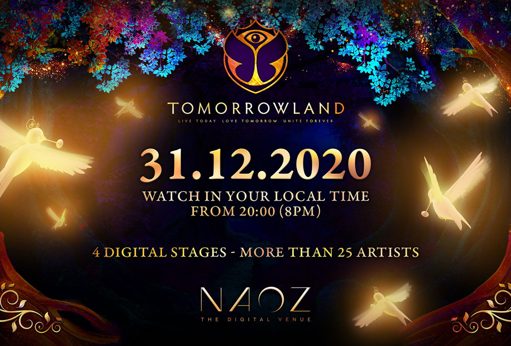 Tomorrowland regresa con un festival para despedir el 2020 ¿Estás listo?