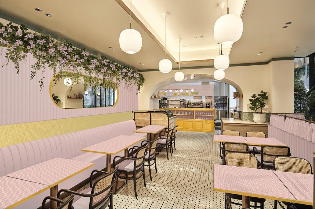 FENDI Café abre como uno de los más hermosos del mundo, ¡en Tokio! - 02_fendi-caffe-anniversaire_tokyo