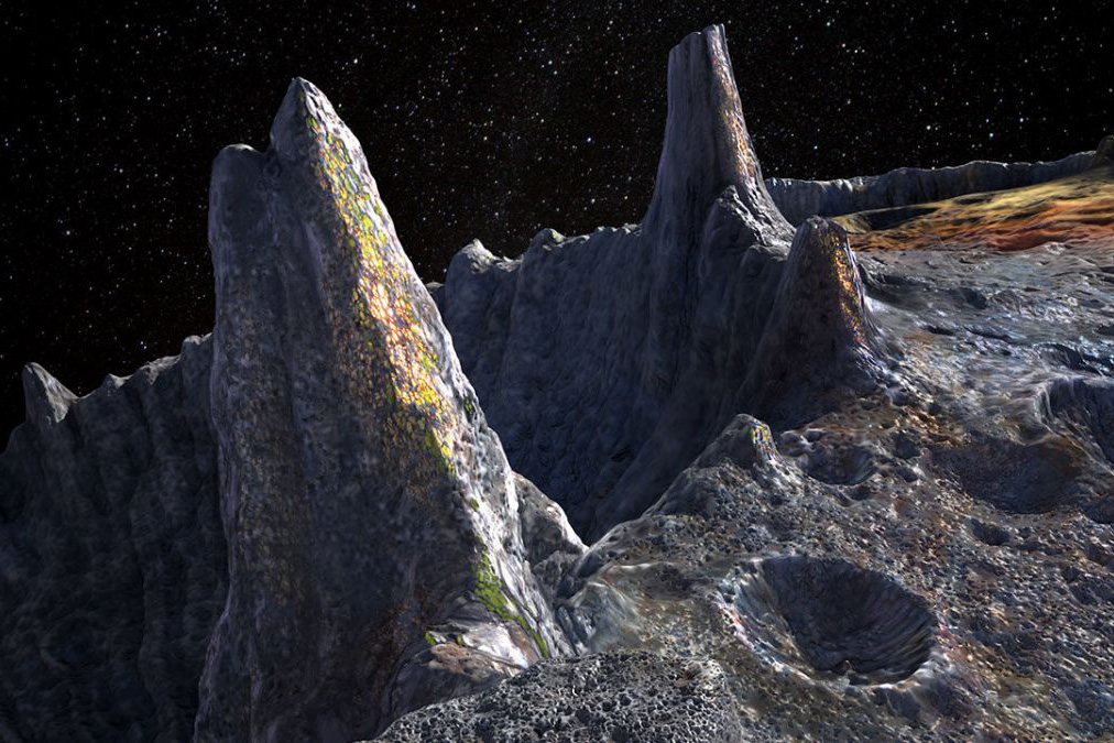 Este asteroide vale 70 mil veces más que toda la economía mundial junta - asteroide