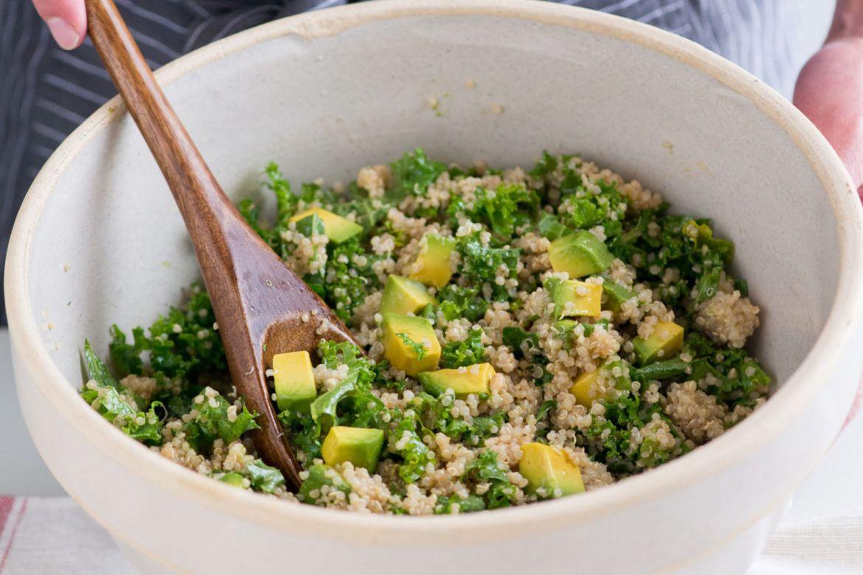 Recetas con kale para un desayuno fácil y saludable - kale-quinoa