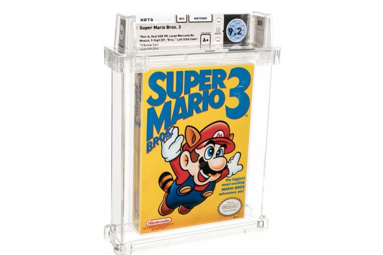Mario Bros. 3 se convierte en el videojuego más costoso de la historia - mario