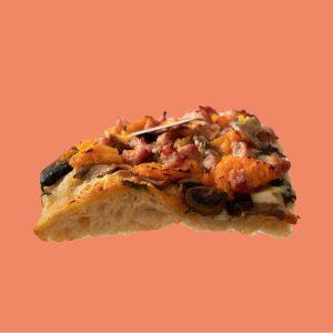 Platillo de la semana: Salchicha y puré de castilla con mix de champiñones de Coma Pizza