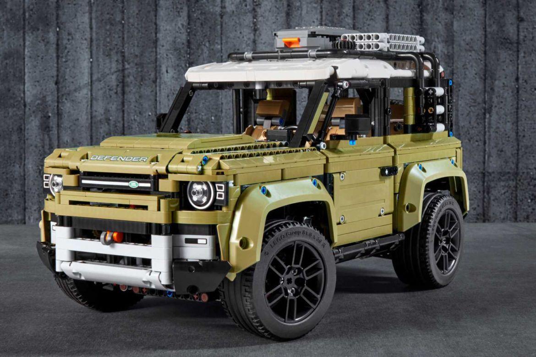 Estos son los mejore autos que puedes armar en LEGO - land-rover-defender