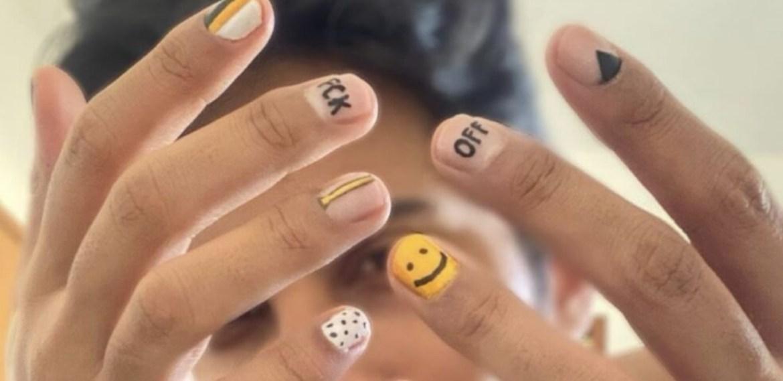 ¿Diseños de uñas para hombre? Conoce la nueva tendencia - sabrina-16