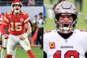 Tom Brady vs. Patrick Mahomes, lo que necesitas saber para el SB LV