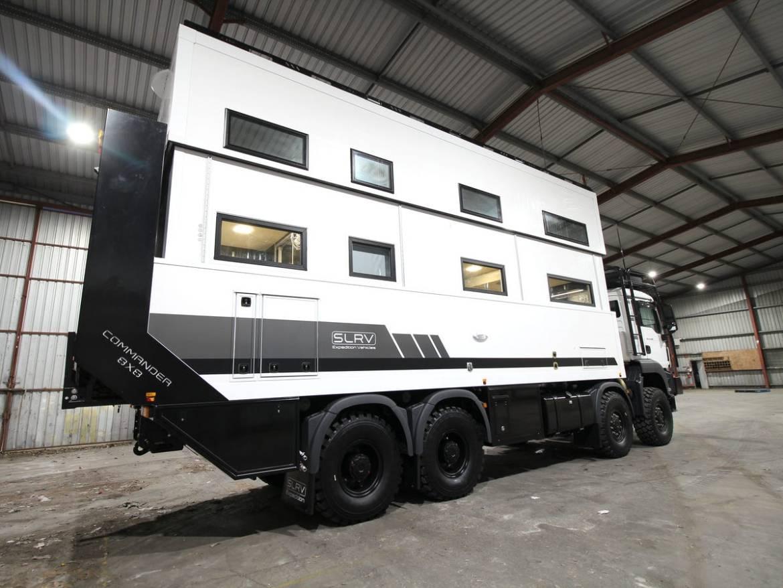 Conoce la única RV capaz de atravesar los terrenos más inhóspitos de Australia - caravana-australia