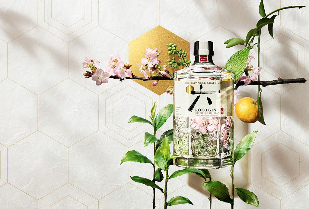 Cocteles con gin y sake para disfrutar la primavera al estilo japonés