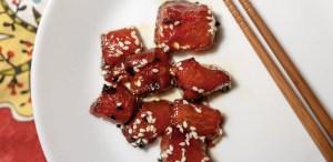 Este 'atún' de sandía es sorprendentemente delicioso (y similar al real)