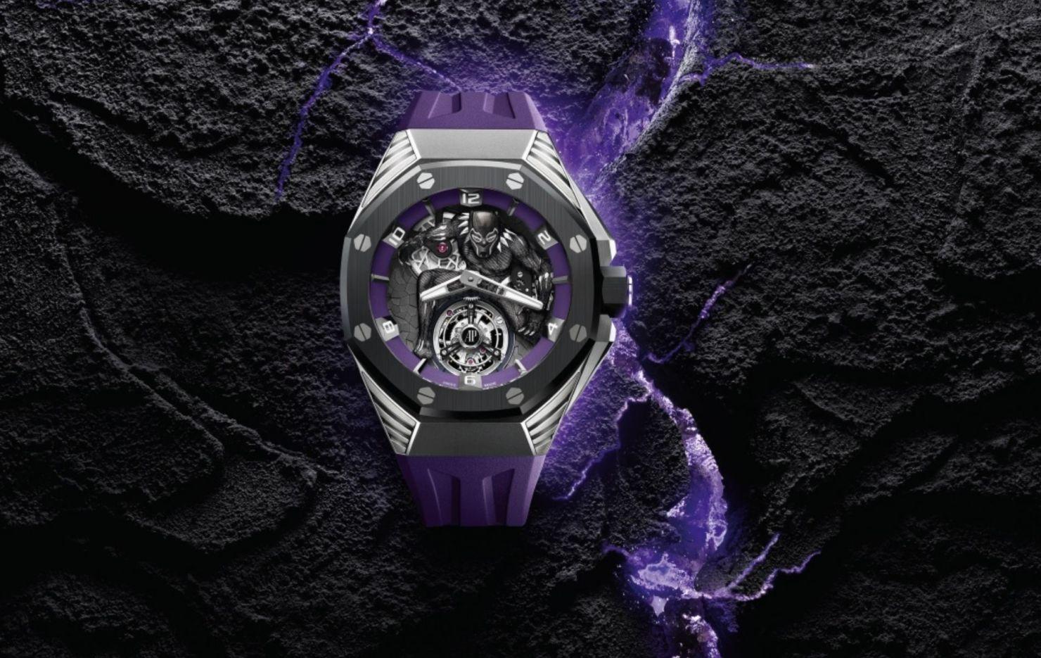 Audemars Piguet rinde tributo a Black Panther con un magnífico reloj