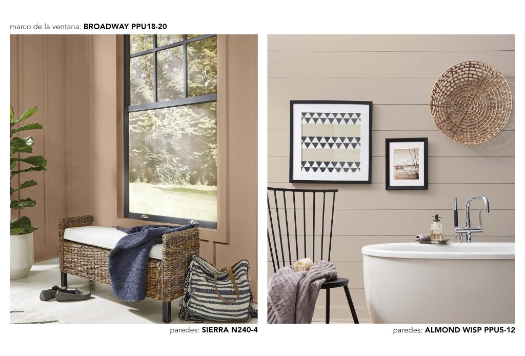 6 paletas de inspiración para hacer más cómodos a tus espacios - confort-casual