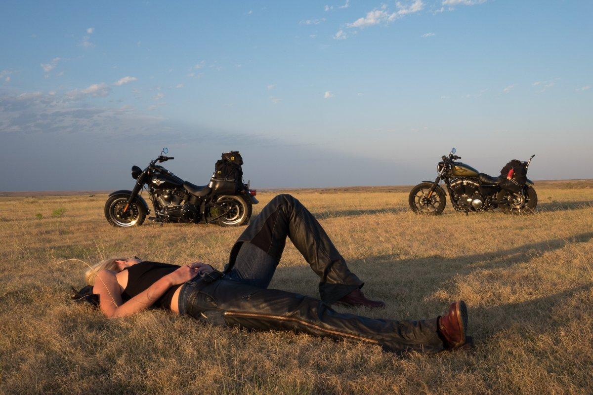 Si estás buscando una aventura, esta es la moto perfecta para un road trip