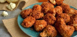 Tenemos la receta de alitas de coliflor para darle un giro a tus comidas